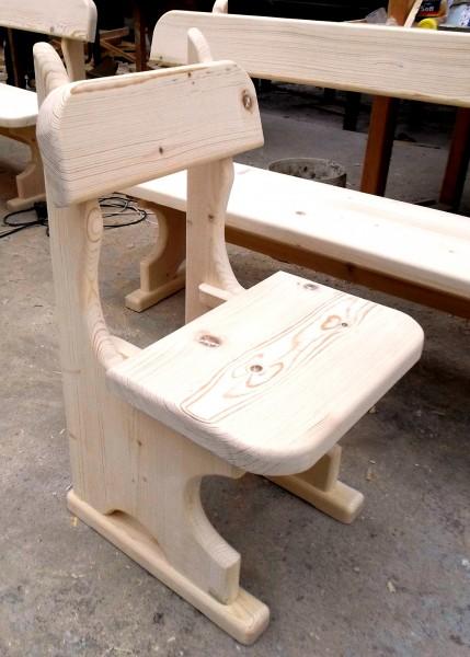 Дървен баварски стол