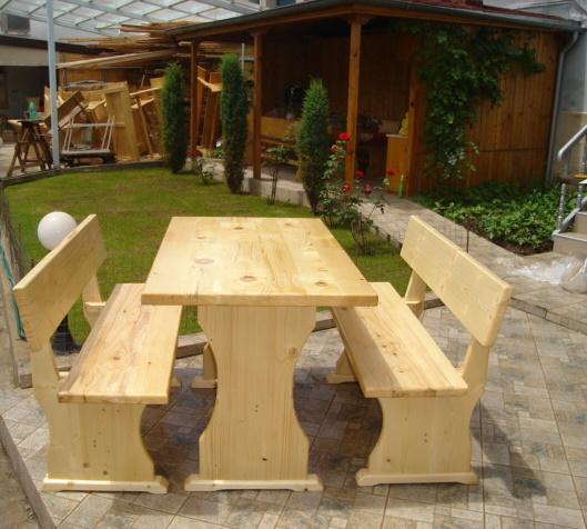 Баварски маси и пейки от масивно дърво-MASIV.BG