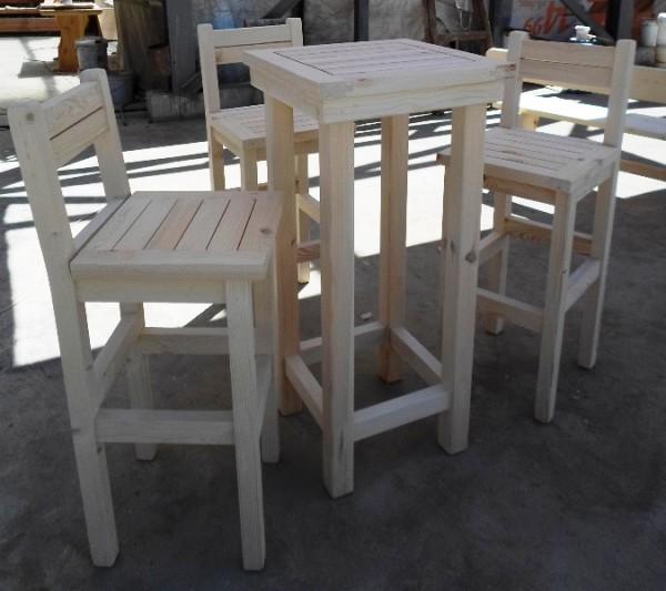 Бар столове, маси и пейки от масивно дърво за заведения и градини-MASIV.BG