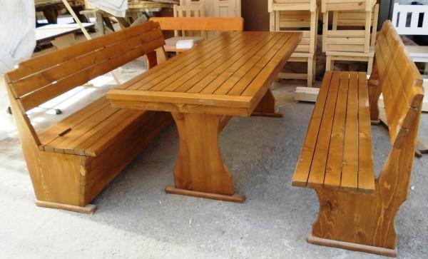 Баварски дървени маси и пейки-MASIV.BG