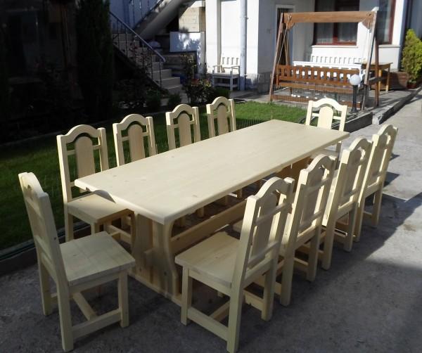 Маси и столове от масивно дърво за заведения и градини-MASIV.BG