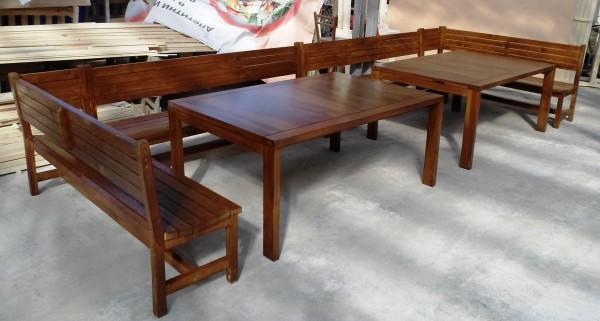 Дървени сепарета и  маси за заведения и градини-MASIV.BG
