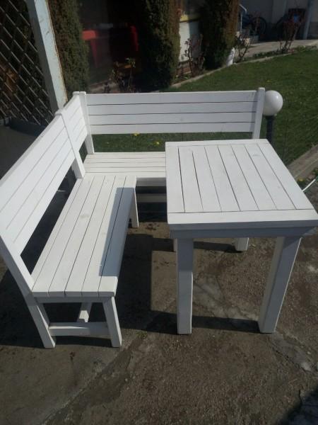 Промоция на градински дървени мебели СЕПАРЕ,101 + МАСА,102 =135 лв+85лв.=220лв.