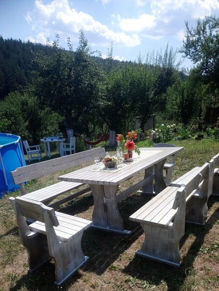 Баварски маси и пейки, столове от дърво-MASIV.BG