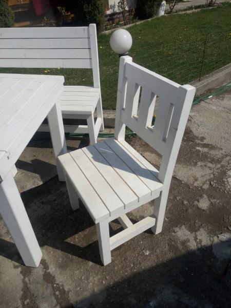 Промоция градински дървен 103 стол МП- цена 45лв.