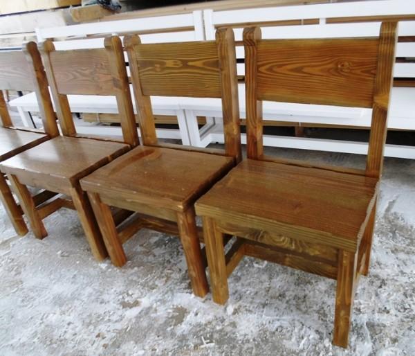Дървени столове за механа